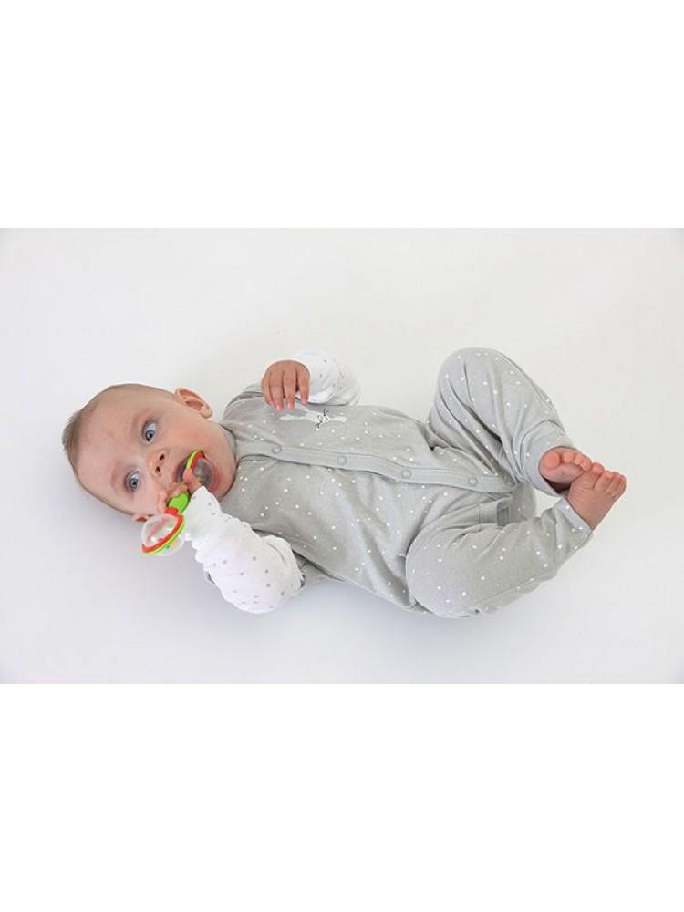 Kombinezonas kūdikiui pilkas Fluffy 68cm