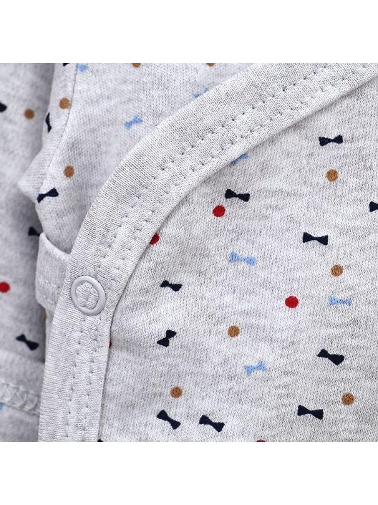 Margi smėlinukai kūdikiams trumpomis rankovėmis