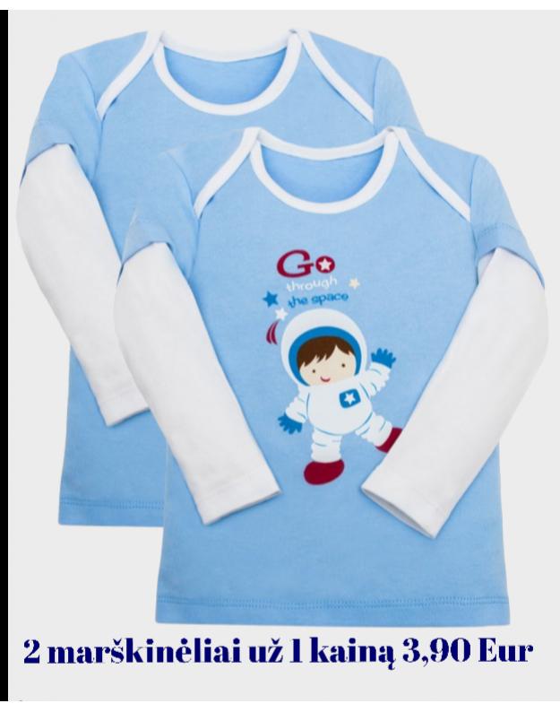 Marškinėlių berniukui komplektas (2 vnt)