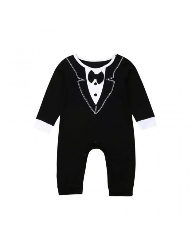 Juodas šliaužtinukas kūdikiui Gentleman