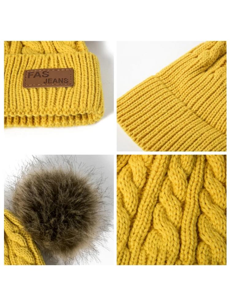Žieminė vaikiška kepurė (1-6 metai)