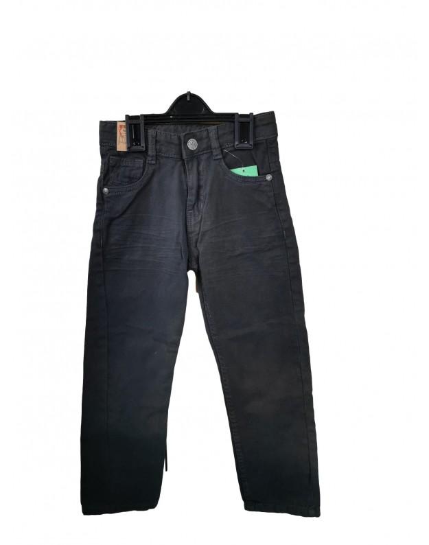 Pilki džinsai berniukui 110cm