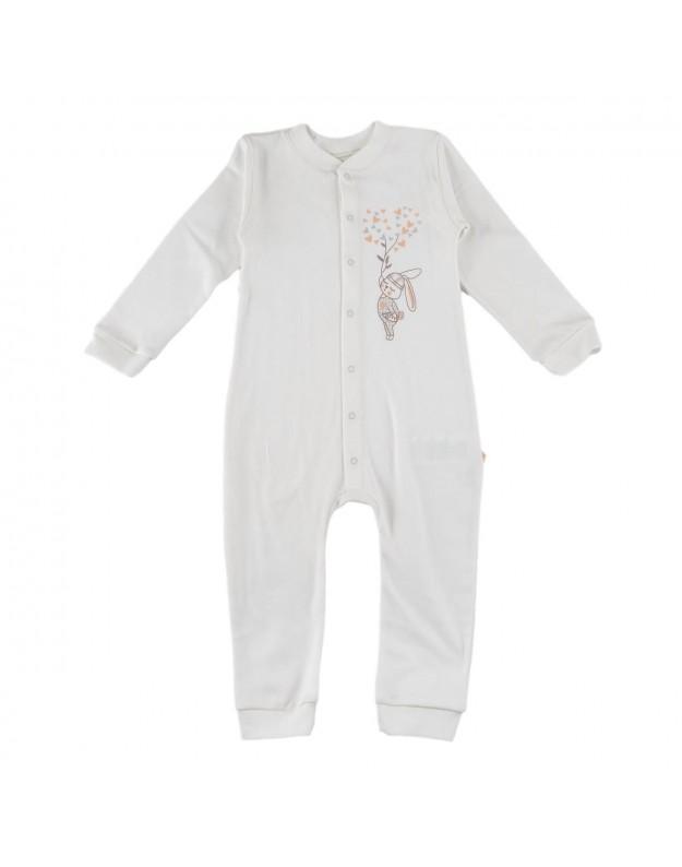 Medvilniniai šliaužtinukai kūdikiui be pėdučių 92cm