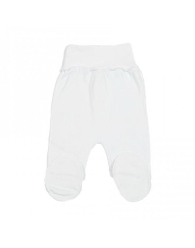 Kelnytės kūdikiams išvirkštinėmis siūlėmis baltos