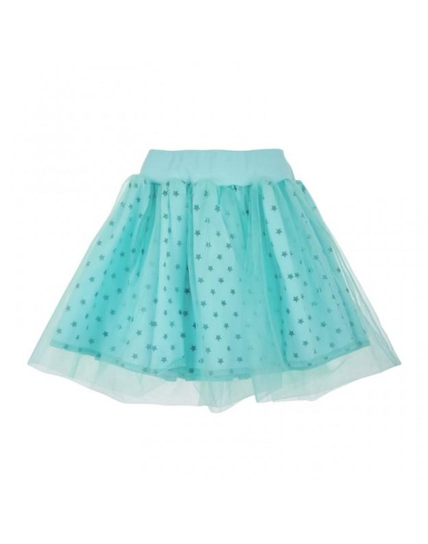 Žvaigždėtas tiulio sijonas mergaitei 86cm
