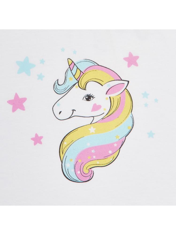 Balti šliaužtinukai be pėdučių mergaitei Unicorn