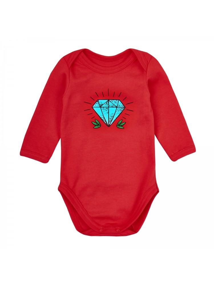 Smėlinukų kūdikiui komplektas pilka raudona Deimantas