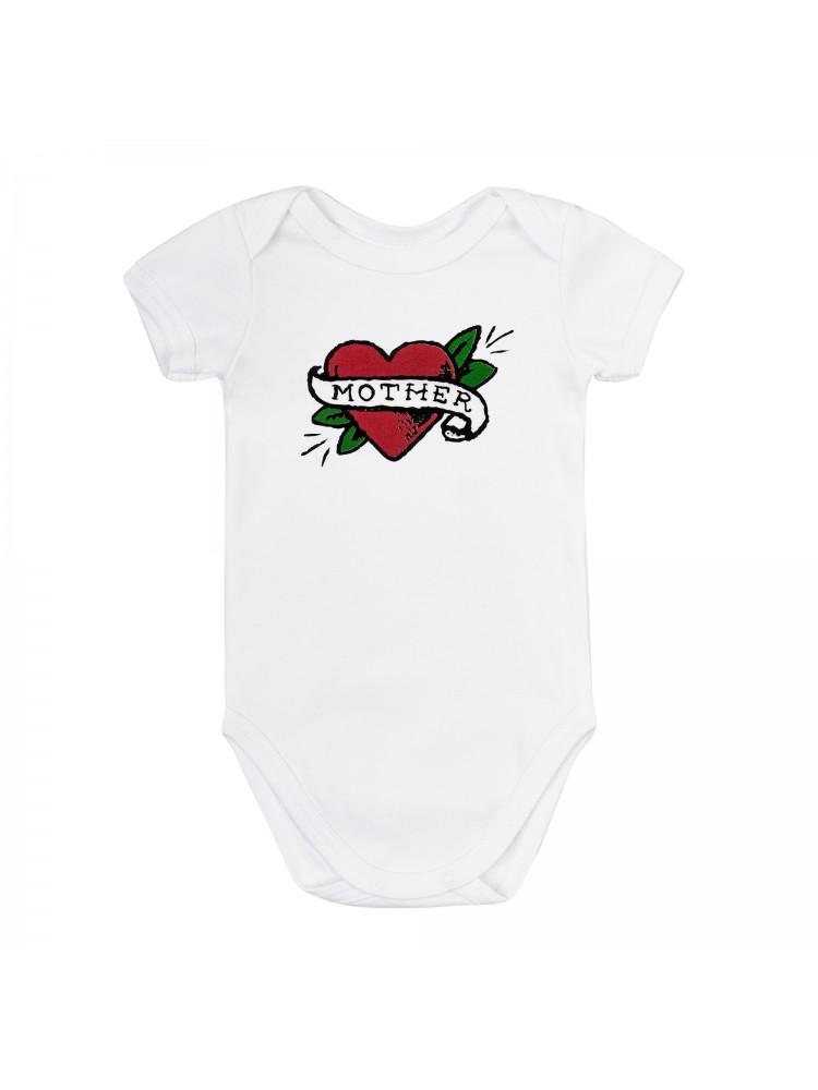 Smėlinukų komplektas kūdikiui balta raudona Mother