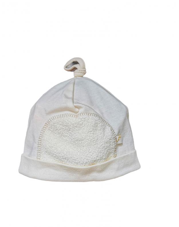 Kepurytė kūdikiui smėlinė