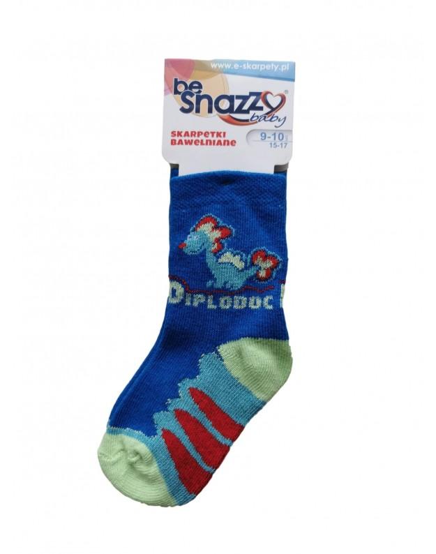 Kojinės berniukams Dinozauras