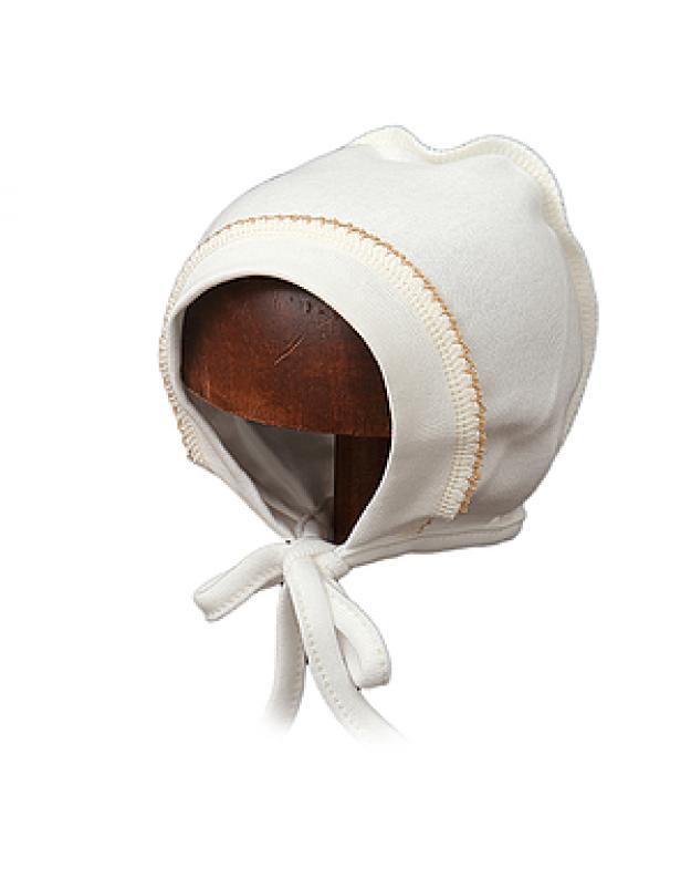 Šilta kepurytė kūdikiui išvirkštinėmis siūlėmis