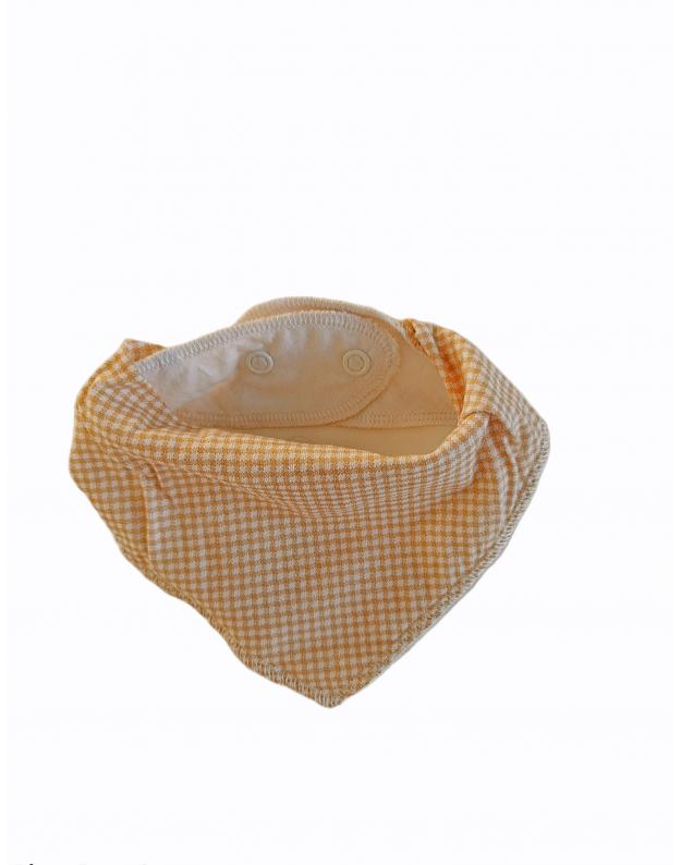 Dviguba kaklaskarė kūdikiui Domino ruda