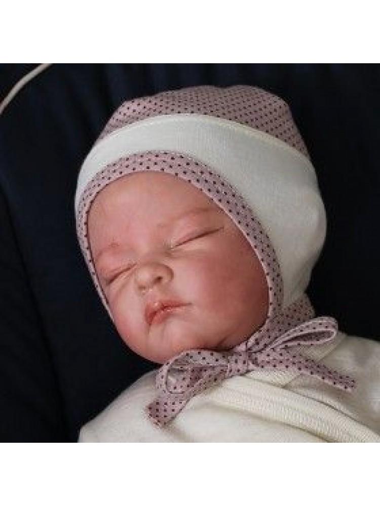 Taškuota kambarinė kepyrytė kūdikiui