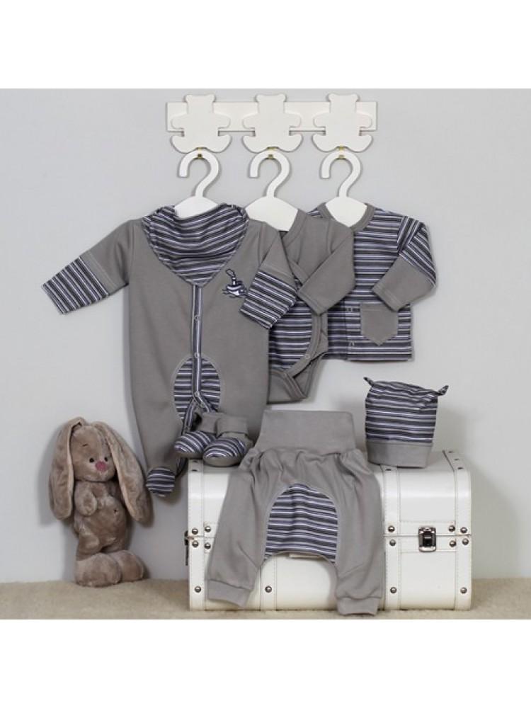 Kepurytė kūdikiui dryžuota 40cm