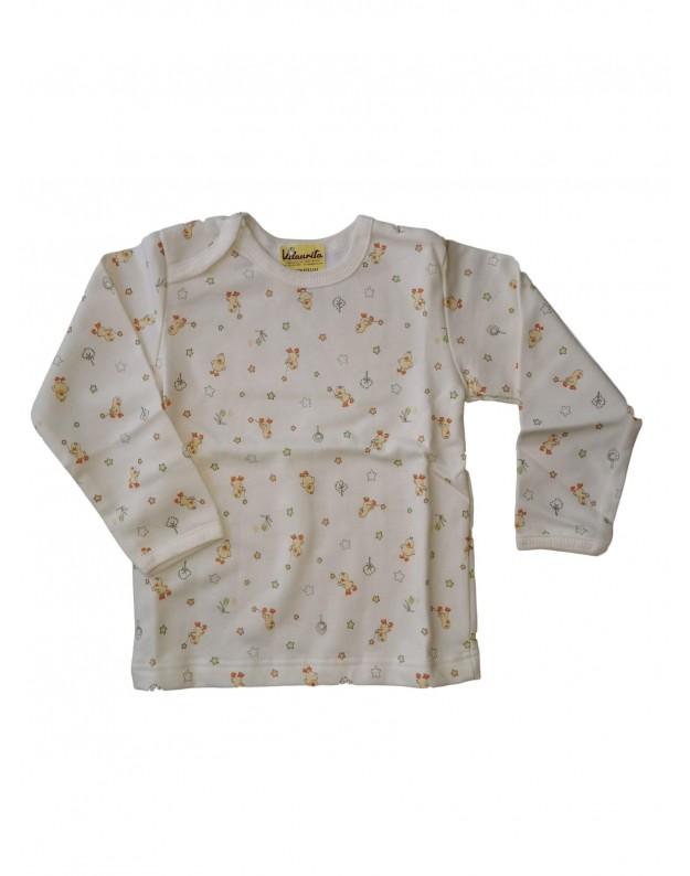Šilti margi marškinėliai kūdikiui