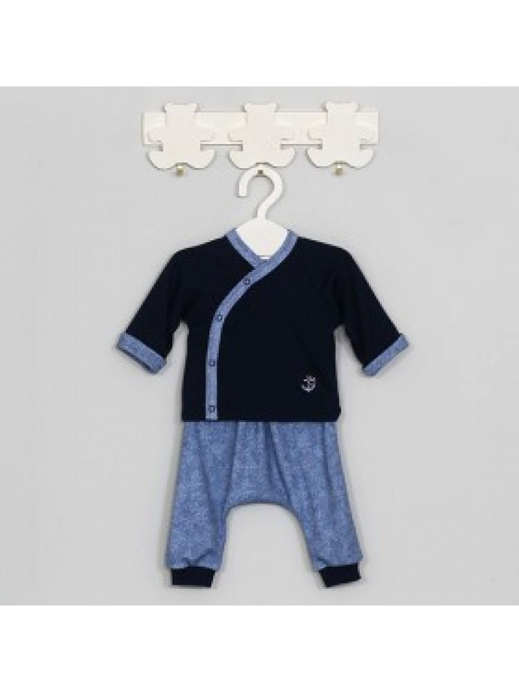 Mėlyni marškinėliai berniukui Jūris